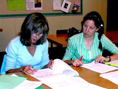 teachers marking